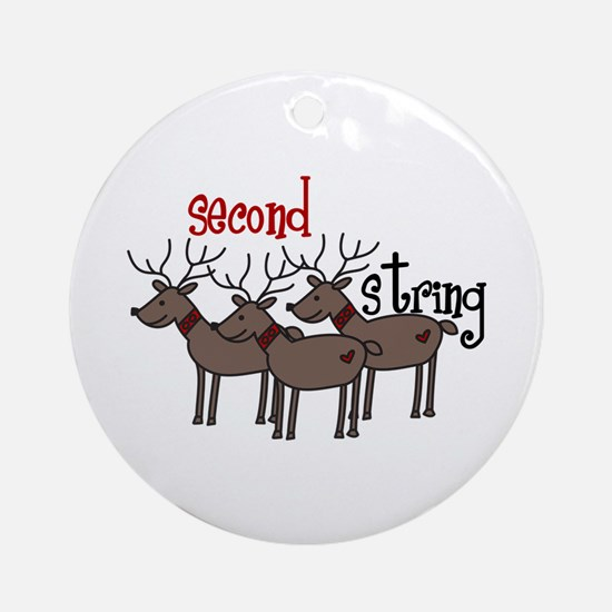 Second String Ornament (Round)