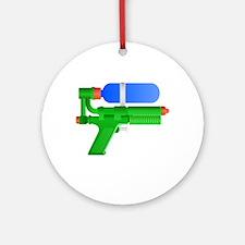 Toy Water Gun Ornament (Round)