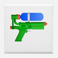 Toy Water Gun Tile Coaster