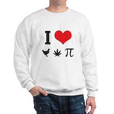 I love chicken pot pie Sweatshirt