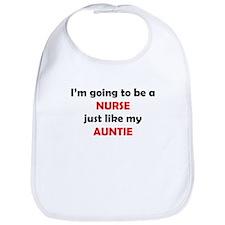 Nurse Like My Auntie Bib