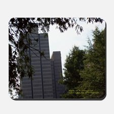 Atlanta Ga Trees & Narrow Buildings Mousepad