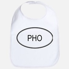 PHO (oval) Bib