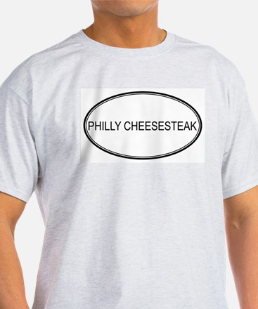 PHILLY CHEESESTEAK (oval) T-Shirt