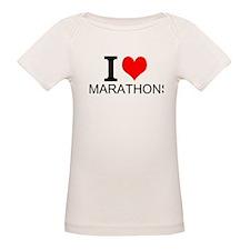 I Love Marathons T-Shirt