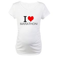 I Love Marathons Shirt