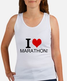 I Love Marathons Tank Top