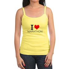 I Love Marathons Tank Top