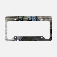 Climbing Draws License Plate Holder