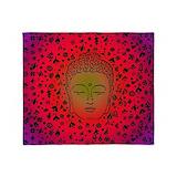 Buddha Fleece Blankets