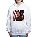 VintageArmyTile.png Women's Hooded Sweatshirt