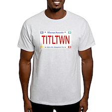 Titletown License Plate T-Shirt