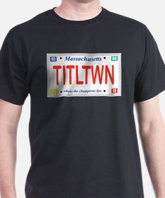 Titletown License Plate T-Shirt