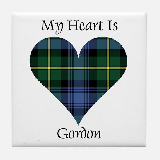 Heart - Gordon Tile Coaster
