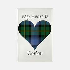Heart - Gordon Rectangle Magnet