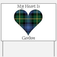 Heart - Gordon Yard Sign
