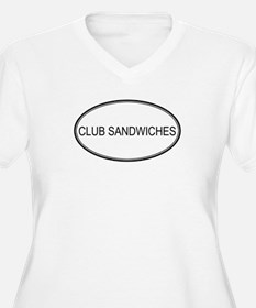CLUB SANDWICHES (oval) T-Shirt