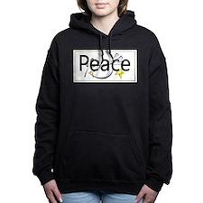 peacePlates.png Women's Hooded Sweatshirt
