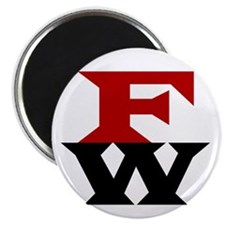 """Donates $5 to MoveOn.Org: 2.25"""" Magnet (10 pack)"""