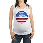 FlagButton.png Maternity Tank Top