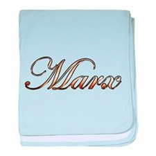 Unique Marx baby blanket