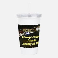 I Survived Atlantas Snowpocalypse Acrylic Double-w