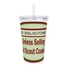 Labelno soliciting.png Acrylic Double-wall Tumbler
