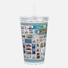 stamps.png Acrylic Double-wall Tumbler
