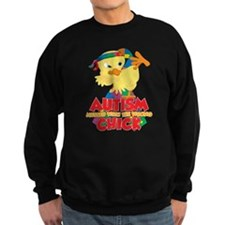Autism Messed With The Wrong Chi Sweatshirt