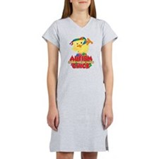 Autism Messed With The Wrong Ch Women's Nightshirt