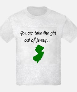 You Can Take The Girl Out Of Jersey 4 T-Shirt