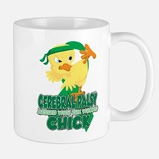 Cerebral Palsy Messed With The Wrong Ch Small Small Mug