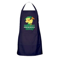 Cerebral Palsy Messed With The Wrong Apron (dark)