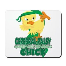 Cerebral Palsy Messed With The Wrong Chi Mousepad