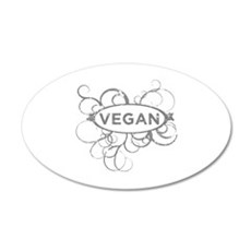 Cool Vegan Art Wall Decal