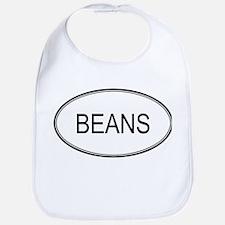 BEANS (oval) Bib