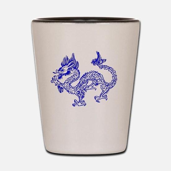 Dragon Bl Shot Glass