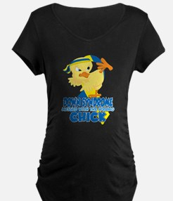 Down Syndrome Messed With T T-Shirt