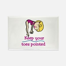 Point Toes Magnets