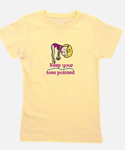 Point Toes Girl's Tee