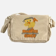Diabetes Messed With The Wrong Chick Messenger Bag