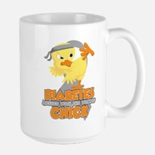 Diabetes Messed With The Wrong Chick Mug