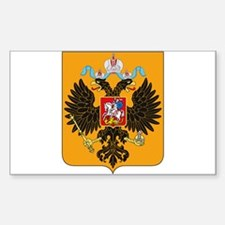 Russian Empire Coat of Arms Rectangle Decal