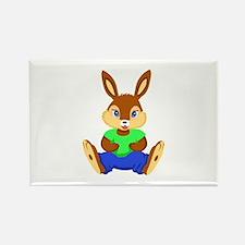 Sitting Rabbit Bunny Magnets