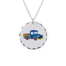 Toy Pickup Truck Necklace