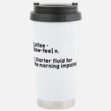 Coffee Definition Travel Mug