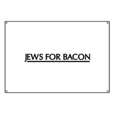 Jews for bacon Banner
