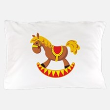 Rocking Horse Toy Pillow Case