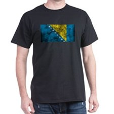 Vintage Bosnia Flag T-Shirt