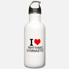 I Love Rhythmic Gymnastics Water Bottle